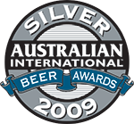 Australian International Beer - Silver Award 2008 / 2009